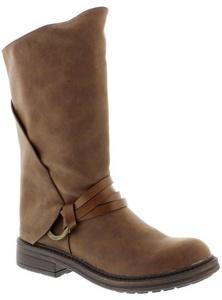 Blowfish Fenni Coffee Womens Mid Calf Boots Shoes-6