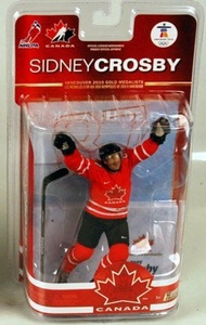 McFarlane Toys NHL Sports Picks Team Canada 2010 Series 2 Action Figure Sidney Crosby (Pittsburgh Penguins) White Jersey by SportsPicks: NHL Hockey