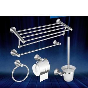 bathroom Towel rack/ bathroom stainless steel Towel rack/Thickened wall-mounted bathroom accessories set-J