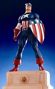 Classic Captain America Statue by Bowen Designs! by Bowen Designs