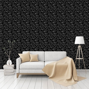 Songbird Sing Patterned Commercial Textured Wallpaper by CustomWallpaper.com