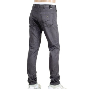 Armani Mens Slim Fit Grey Denim Jeans AJM5974