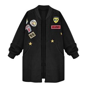 Fedi Apparel Women's Long Trench Windbreaker Parka Outwear Cardigan Coat Jacket