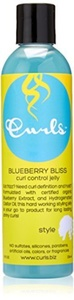 Curls Blueberry Bliss Control Jelly, 8 Ounce by Curls