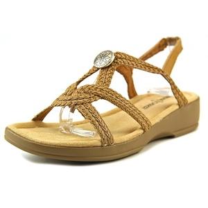 Minnetonka Ava N/S Open-Toe Synthetic Slingback Sandal