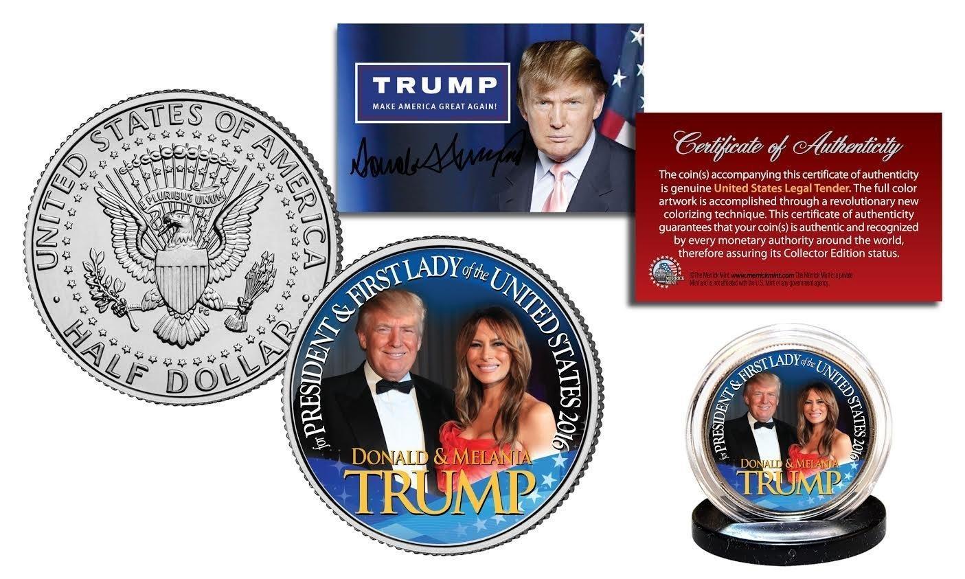 donald trump half dollar coin