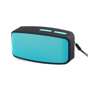 Bluetooth Speaker, ZYooh Portable Wireless Bluetooth Stereo FM Speaker For Smartphone Tablet Laptop Blue