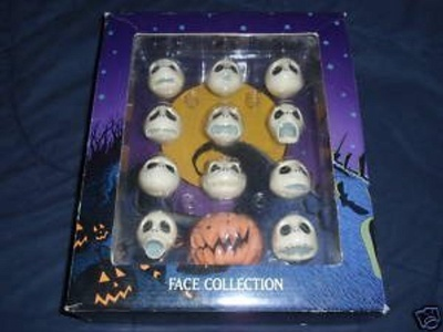 The Nightmare Before Christmas Jack Skellington Face Collection Jun Planning by The Nightmare Before Christmas