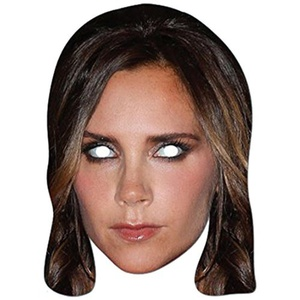 Victoria Beckham Celebrity Party Mask - Single by Partyrama