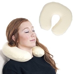Travel Pillows Remedy Memory Foam Head & Neck Support Travel Reading Pillow neck pillow pillows for travel inflatable memory foam car cover