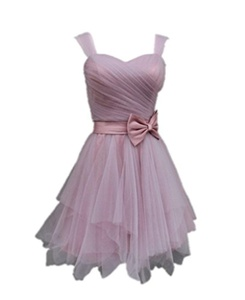 Winnie Bride Women's Straps Sweet 16 Junior Bridesmaid Dress Short Prom Dress-22W-Lavender