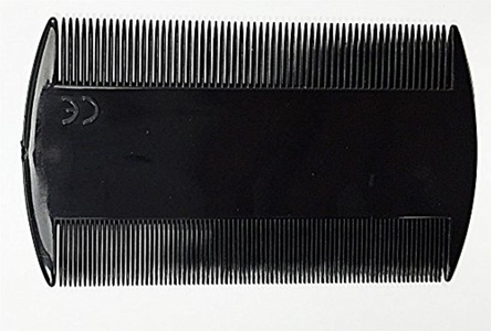 Black Durable Double Sided Nit Combs for Head Lice Dectection Comb Kids Pet Flea by Concept4u