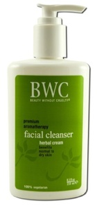 Beauty Without Cruelty Facial Cleanser, Herbal Cream, 8.5 fl oz by Beauty Without Cruelty