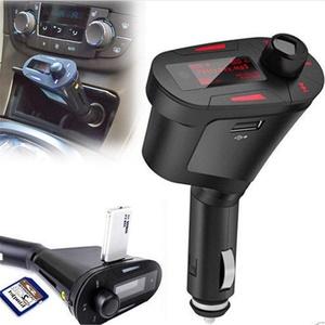 ADOBY Auto MP3 Music Player FM Transmitter Radio Modulator USB TF SD MMC LCD Car Kit