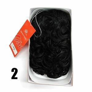 Sepia Drawstring Hair Pony Tail & Hair Extension 2 Dark Brown