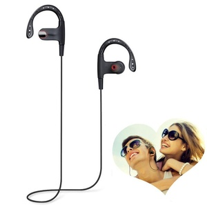 Kasily Bluetooth Headphones Hands-free Dialing Wireless 4.1 Bluetooth Headset HD Stereo Sound Super Bass Noise Cancelling Sports Running Earphones In-ear with Mic for iOS and Android (Red)