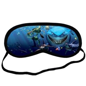 Custom Finding nemo Sleeping Mask, Comfortable Soft Cotton Sleeping Aids Eye Mask Cover Travel & Work Rest
