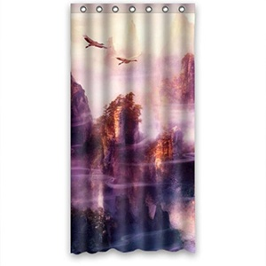 Deep Mountains Bestselling Fashion Shower Curtain 36(W)X72(H)