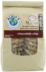 Aleia's Gluten Free Foods Cookies, Choc Chip, 9 Ounce (Pack of 6) by Aleia's Gluten Free Foods