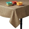 Snap Drape TBUR6161 Tablecloth, Machine Washable/Dryable, 100% Polyester, 61