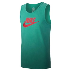 Nike Mens Futura Solstice Tank Top Rio Teal/Light Crimson
