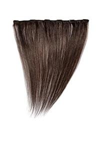 Love Hair Extensions 14 inch Clip In Extension, Human Hair, Colour 2 - Dark Brown by Love Hair