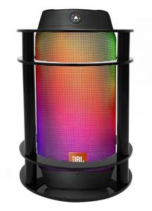 FitSand Speaker Stand Guard Station for Jbl Pulse 2 Bluetooth Speaker - Enhanced Strength and Stability to Protect Alexa Boom Speaker (Black)