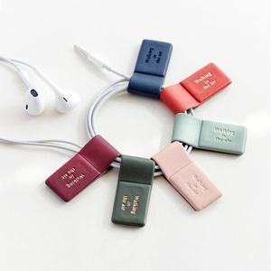 Magnetic Bookmarks Pen Holder Multipurpose Earphone Cord Winder Cable Organizer 6PCS Set
