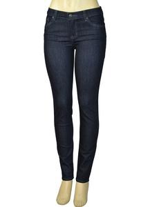 Alfa Global Junior's Low Rise Skinny Denim Pants DarkBlue203 Size 14