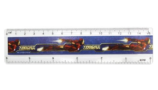 Marvel Comics' Iron Man 2 Half Size Kids Ruler