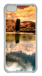 iPhone 5c case, Cute Hadrians Villa Vintage Photography iPhone 5c Cover, iPhone 5c Cases, Hard Clear iPhone 5c Covers
