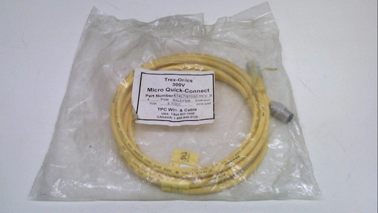 Tpc Wire And Cable 67427/97032, Revision B, Cable, 9 Feet, Male/Female 67427/97032 Revision B