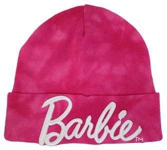 Barbie Girl's Pink Beanie Hat - Junior [4013]