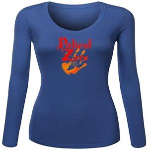 Patient Zero zombie for Women Printed Long Sleeve Cotton T-shirt