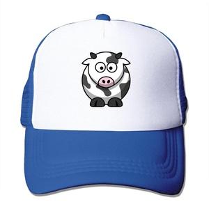 Dairy Cattle Mesh Hat Trucker Baseball Cap RoyalBlue
