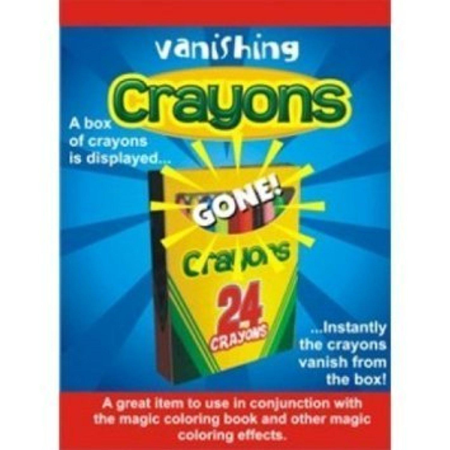 The magic coloring book trick - Deluxe Vanishing Crayons Magic Trick By Larocks