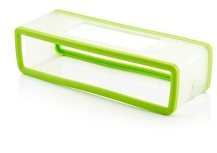 Bissport TPU Gel Soft Case Cover Pouch for Bose Soundlink Mini Bluetooth Speaker (Mint Green)