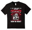 Kids Show No Mercy T-Shirt 10 Black