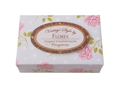 Vintage Style Rose Block Soap, Peony by Vintage Style