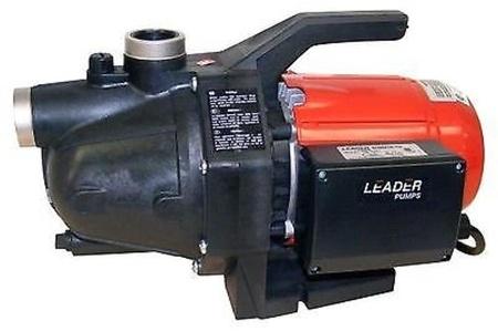 Leader Pumps 727972 Ecojet Self Priming Jet Pump, 1-115V to 960 GPH