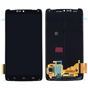New Black Motorola Droid Turbo XT1254 Touch digitizer Lens LCD display Assembly