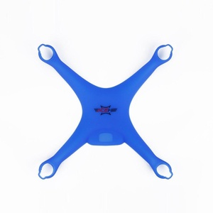 Skidproof Silicone Protective Shell Case for DJI Phantom 4 Drone (Blue, 1 Pcs)