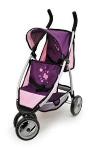 Bayer Design Twin Jogger (Plum) by Bayer Design