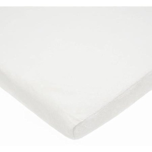 TL Care Heavenly Soft Chenille Fitted Cradle Sheet, White by TL Care