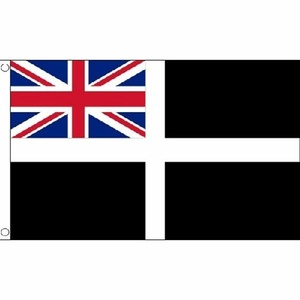Cornwall Ensign Flag 5Ft X 3Ft Cornish England English County Banner New by Cornwall Ensign