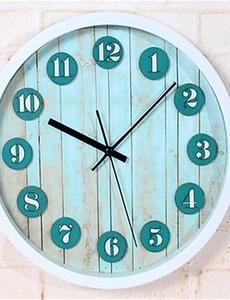 3D Stereo Mediterranean Wall Clock