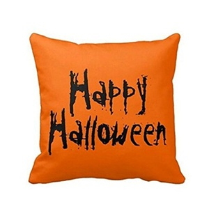 Iuhan® Fashion Halloween Pillow Case Sofa Waist Throw Cushion Cover Home Decor (D)