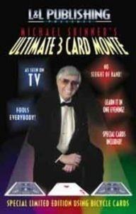 Michael Skinner's Ultimate 3 Card Monte Magic Trick - Blue Back by Michael Skinner