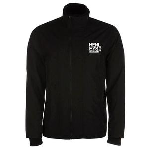 Henleys Men's Desouk Lightweight Rain Wind Jacket Black X-Large