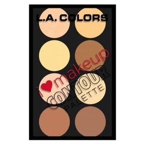 L. A. COLORS I Heart Makeup Contour Palette - Light To Medium by L.A. Colors